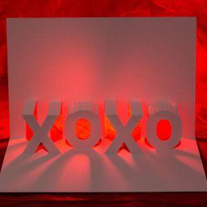 XOXO Popup Card