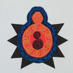 Celtic Spider Gocco Print