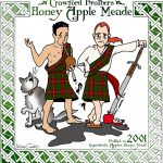 Crawford Brothers Honey Apple Meade Label