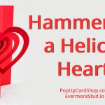 Hammering a Helical Heart