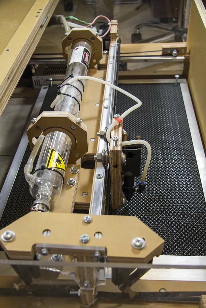 Blacktooth Laser Cutter Gantry and Tube