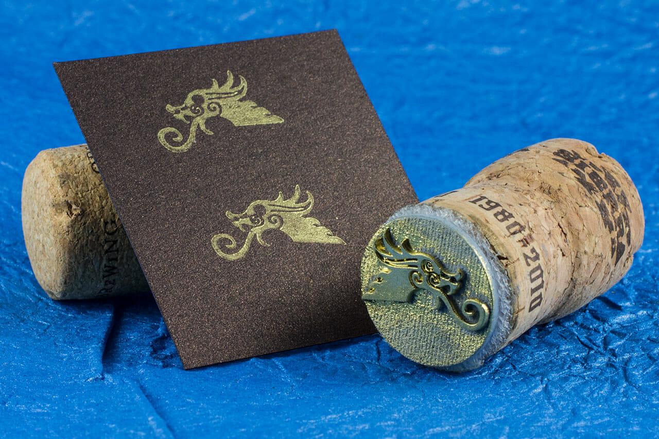 Dragon Head Stamp