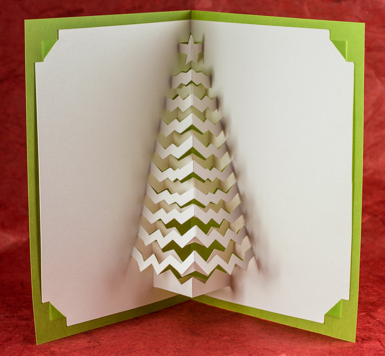 Christmas Tree Pop Up Card by Andrew Crawford ©2009
