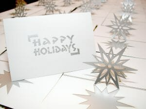 Snowflake Pop Up Card by Andrew Crawford