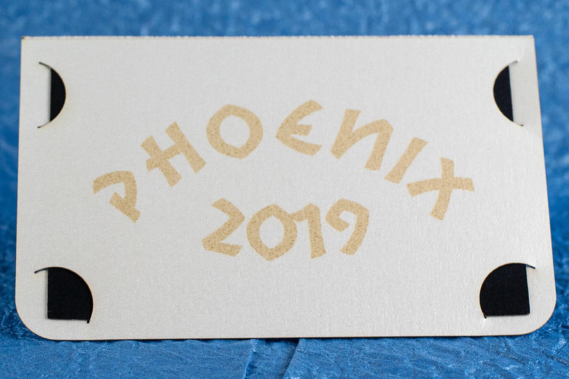 Phoenix 2019 Card Front
