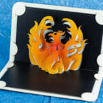Phoenix Pop Up Card by Andrew Crawford