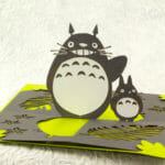 Totoro twisted-crest OA pop up card