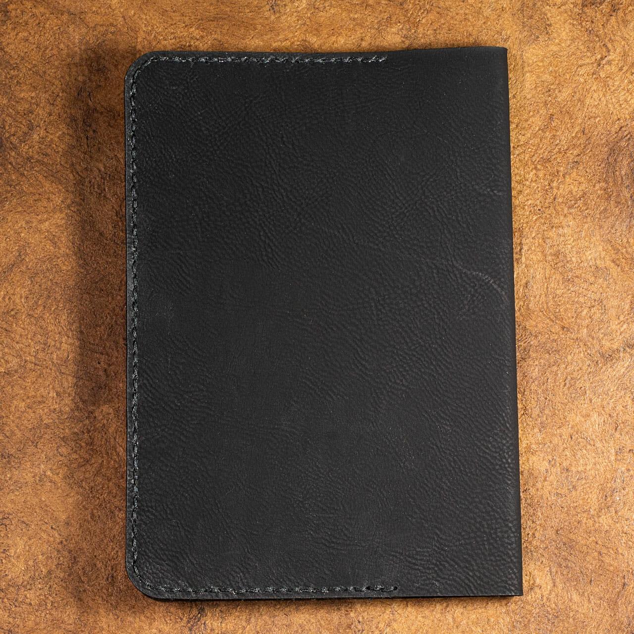 Celtic Snowflake Journals (Black – Back)