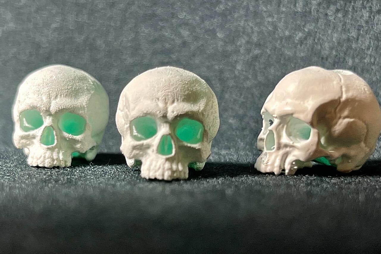 Skull Beads (Primed)