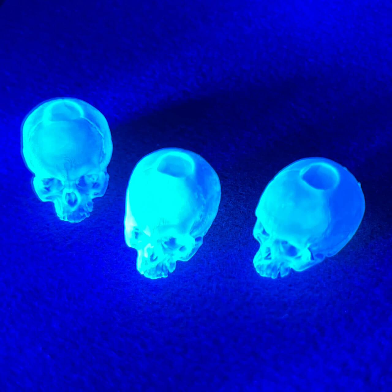 Skull Beads (UV Curing)