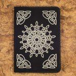 Celtic Snowflake Journals (Black)