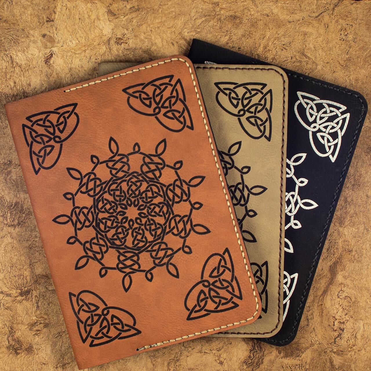 Celtic Snowflake Journals (3 Colors)