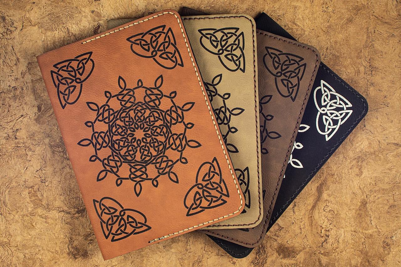 Celtic Snowflake Journals (4 Colors)