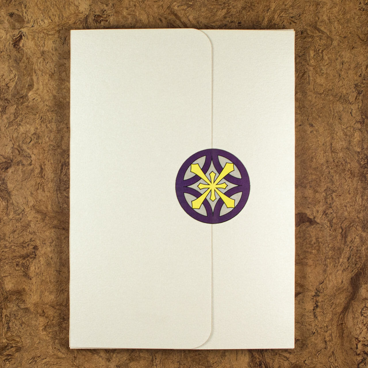 Celtic Snowflake Journals Packaging (Back)