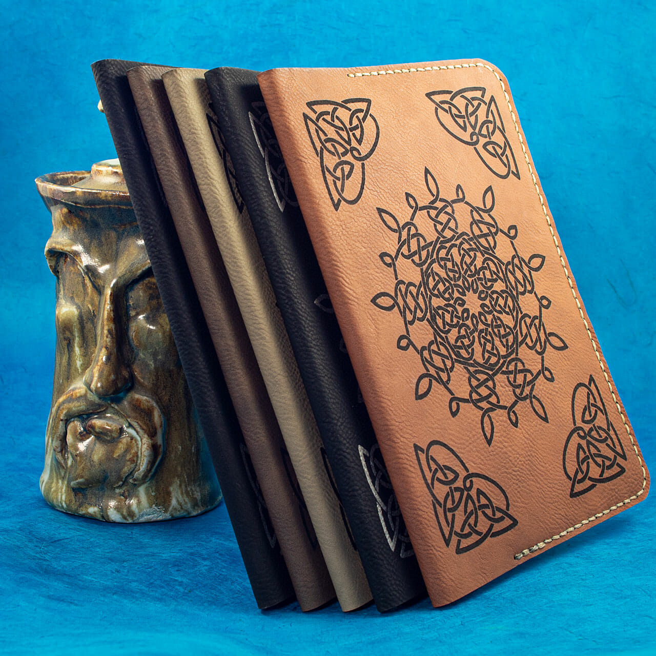 Celtic Snowflake Journals (Shelf View)