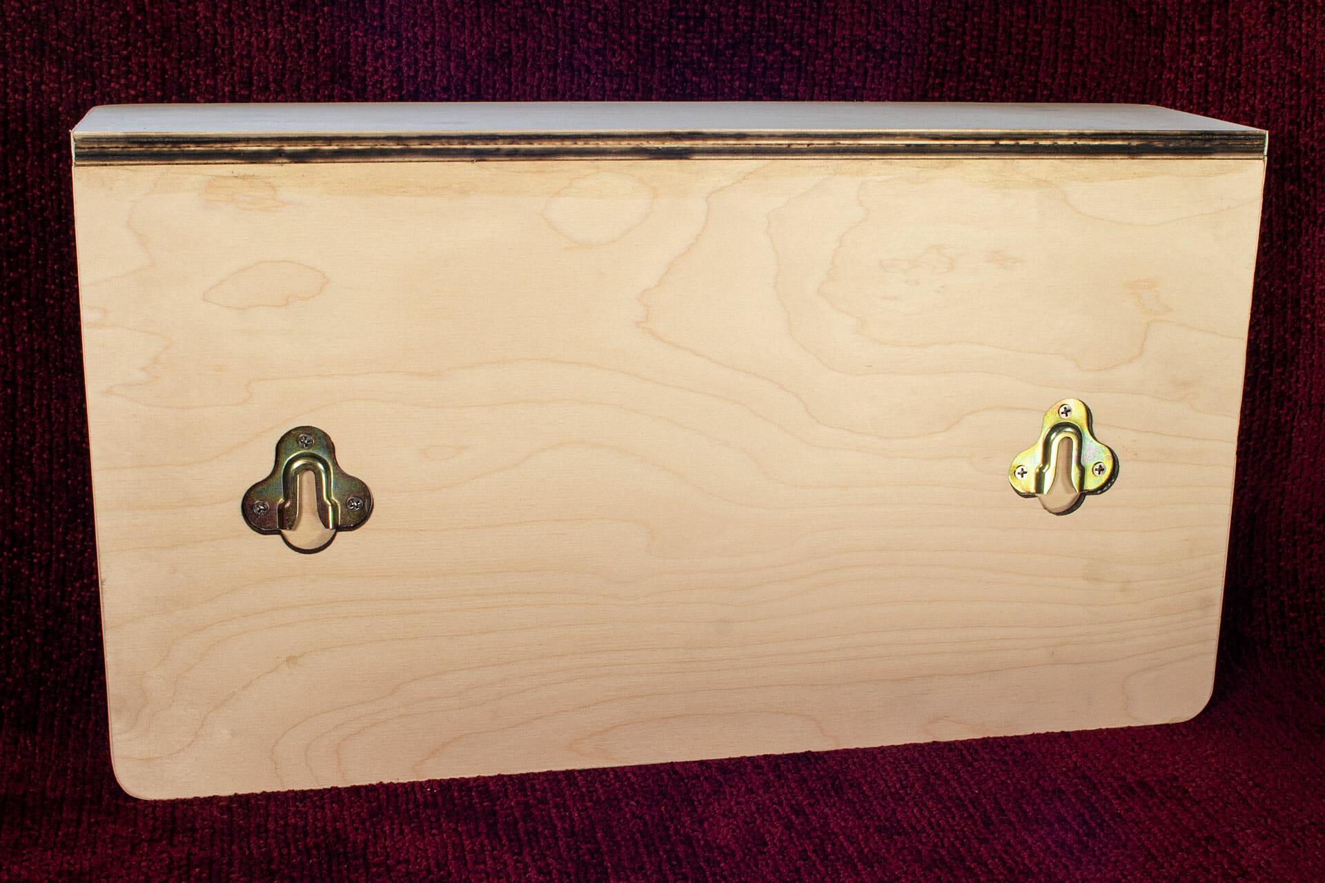 Arrow of Light plaque + shelf (back)